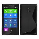 Coque Nokia XL S-Line Silicone Gel Housse - Noire