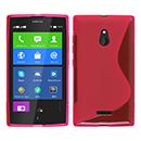 Coque Nokia XL S-Line Silicone Gel Housse - Rose Chaud