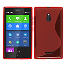 Coque Nokia XL S-Line Silicone Gel Housse - Rouge