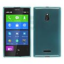 Coque Nokia XL Silicone Transparent Housse - Bleu