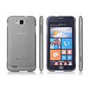 Coque Samsung Ativ S i8750 Ultrathin Plastique Etui Rigide - Gris