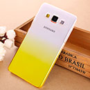 Coque Samsung Galaxy A5 Degrade Etui Rigide - Jaune