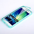 Coque Samsung Galaxy A5 Flip Silicone Gel Housse - Bleue Ciel