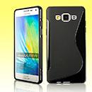 Coque Samsung Galaxy A5 S-Line Silicone Gel Housse - Noire