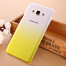 Coque Samsung Galaxy A7 Degrade Etui Rigide - Jaune