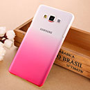Coque Samsung Galaxy A7 Degrade Etui Rigide - Rose Chaud