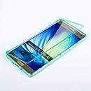 Coque Samsung Galaxy A7 Flip Silicone Gel Housse - Verte