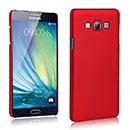 Coque Samsung Galaxy A7 Plastique Etui Rigide - Rouge