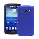 Coque Samsung Galaxy Ace 3 S7272 Plastique Etui Rigide - Bleu
