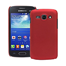 Coque Samsung Galaxy Ace 3 S7272 Plastique Etui Rigide - Rouge