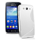Coque Samsung Galaxy Ace 3 S7272 S-Line Silicone Gel Housse - Blanche
