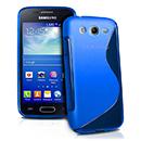 Coque Samsung Galaxy Ace 3 S7272 S-Line Silicone Gel Housse - Bleu