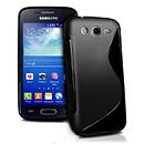Coque Samsung Galaxy Ace 3 S7272 S-Line Silicone Gel Housse - Noire
