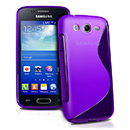 Coque Samsung Galaxy Ace 3 S7272 S-Line Silicone Gel Housse - Pourpre