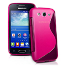 Coque Samsung Galaxy Ace 3 S7272 S-Line Silicone Gel Housse - Rose Chaud