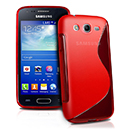 Coque Samsung Galaxy Ace 3 S7272 S-Line Silicone Gel Housse - Rouge