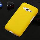 Coque Samsung Galaxy Ace 4 4G G357 Plastique Etui Rigide - Jaune