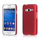 Coque Samsung Galaxy Ace 4 4G G357 Plastique Etui Rigide - Rouge