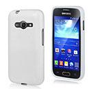 Coque Samsung Galaxy Ace 4 4G G357 Silicone Gel Housse - Blanche