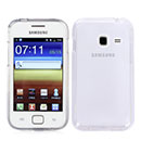 Coque Samsung Galaxy Ace Duos S6802 Silicone Transparent Housse - Blanche