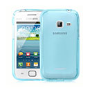 Coque Samsung Galaxy Ace Duos S6802 Silicone Transparent Housse - Bleu