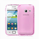 Coque Samsung Galaxy Ace Duos S6802 Silicone Transparent Housse - Rose