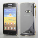 Coque Samsung Galaxy Beam GT-i8530 S-Line Silicone Gel Housse - Blanche