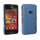 Coque Samsung Galaxy Beam GT-i8530 Sables Mouvants Etui Rigide - Bleu