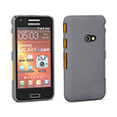 Coque Samsung Galaxy Beam GT-i8530 Sables Mouvants Etui Rigide - Gris