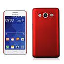 Coque Samsung Galaxy Core 2 G355H Plastique Etui Rigide - Rouge