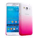 Coque Samsung Galaxy Core Max G5108Q Degrade Etui Rigide - Rose Chaud