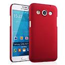 Coque Samsung Galaxy Core Max G5108Q Plastique Etui Rigide - Rouge