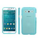 Coque Samsung Galaxy Core Max G5108Q Silicone Transparent Housse - Bleue Ciel