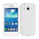 Coque Samsung Galaxy Core Plus G3500 S-Line Silicone Gel Housse - Blanche