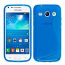 Coque Samsung Galaxy Core Plus G3500 S-Line Silicone Gel Housse - Bleu