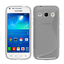 Coque Samsung Galaxy Core Plus G3500 S-Line Silicone Gel Housse - Gris