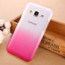 Coque Samsung Galaxy Core Prime G360H Degrade Etui Rigide - Rose Chaud