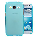 Coque Samsung Galaxy Core Prime G360H Silicone Transparent Housse - Bleue Ciel