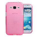 Coque Samsung Galaxy Core Prime G360H Silicone Transparent Housse - Rose