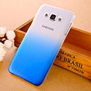 Coque Samsung Galaxy E7 E700 Degrade Etui Rigide - Bleu