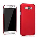 Coque Samsung Galaxy E7 E700 Plastique Etui Rigide - Rouge