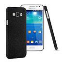 Coque Samsung Galaxy E7 E700 Sables Mouvants Etui Rigide - Noire