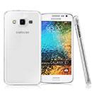Coque Samsung Galaxy E7 E700 Transparent Plastique Etui Rigide - Clear