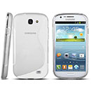 Coque Samsung Galaxy Express i8730 S-Line Silicone Gel Housse - Clear