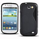 Coque Samsung Galaxy Express i8730 S-Line Silicone Gel Housse - Noire