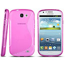 Coque Samsung Galaxy Express i8730 S-Line Silicone Gel Housse - Rose