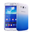 Coque Samsung Galaxy Grand 2 G7102 Degrade Etui Rigide - Bleu