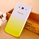 Coque Samsung Galaxy Grand 2 G7102 Degrade Etui Rigide - Jaune