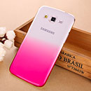 Coque Samsung Galaxy Grand 2 G7102 Degrade Etui Rigide - Rose Chaud