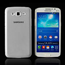 Coque Samsung Galaxy Grand 2 G7102 Silicone Transparent Housse - Gris